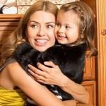 Виктория с дочерью