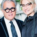 НА открытии нового бутика Giuseppe Zanott