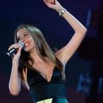 Кэти на сцене