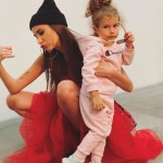 Маленькая модница с мамой