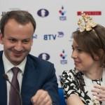 На чемпионате мира по шахматам