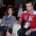 На олимпийской вечеринке в Сочи
