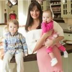Оксана со своими малышами