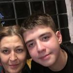 Ольга Лысак с сыном