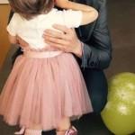 Павел Воля с дочкой