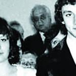 Свадебное фото с первой женой