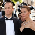 Пьер Андюран с женой