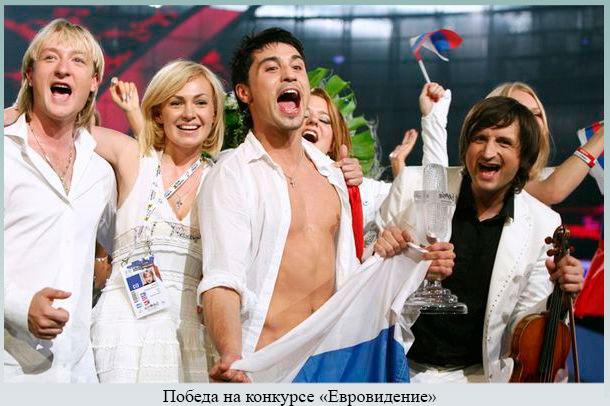 Победа на конкурсе Евровидение