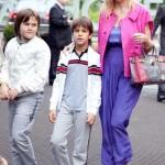 С сыновьями Андреем и Николаем