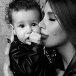 С малышкой Оливией