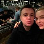 С супругой Натальей