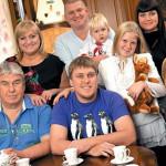 Большая семья Незлобиных