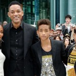 Уилл Смит с Джадой и детьми