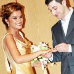Первая свадьба Ксении Бородиной