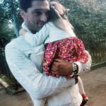 Вахтанг Беридзе с дочкой