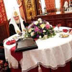 Встреча с патриархом московским Кириллом