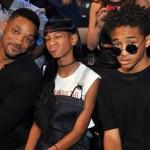 Смит с сыном и дочерью