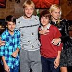 С сыновьями от Виктора Батурина