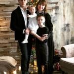 Эльдар Лебедев с семьей