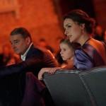 Семья в концертном зале