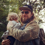 Алексей Тишкин с дочкой