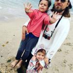 Муж Ольги Шелест с дочками