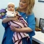 Алла Пугачева с новорожденным