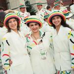 Амина Зарипова, Ирина Винер и Яна Батыршина на Олимпиаде 1996 года в Атланте