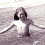 Анастасия Стоцкая в детстве