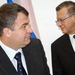С бывшим тестем Виктором Зубковым