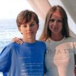 Андрей Удалов с мамой