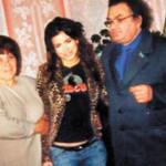 Каролина с родителями