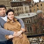 Анна с Олегом Капустиным