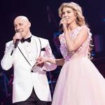 Денис с женой на концерте в Кремле