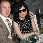 Гурцкая с мужем на светском приеме