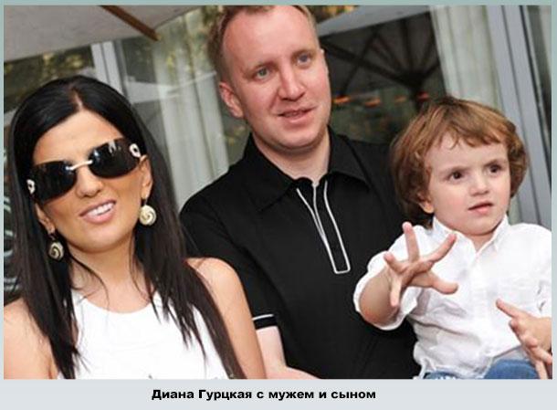 Семья Дианы Гурцкой