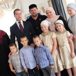 Дмитрий Медведев в гостях у Кадырова