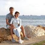 Эльдар Лебедев с женой