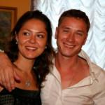 Елена Лядова с первым мужем
