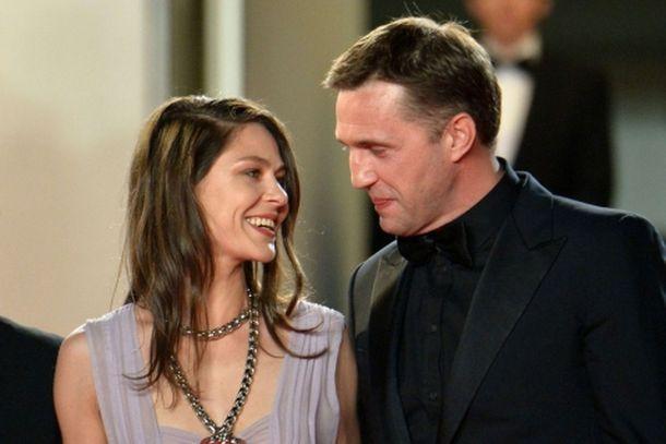 Елена Лядова с супругом