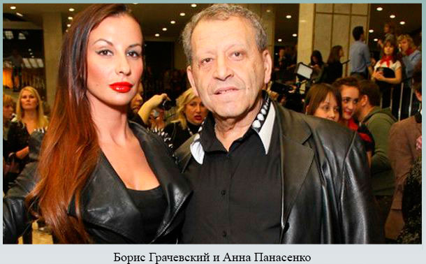 Борис Грачевский и Анна Панасенко