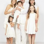 Вместе с четырьмя детьми