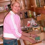 Ирина на кухне