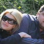 Ирина и Сергей на пикнике