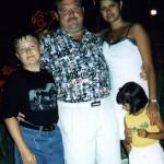 Михаил Круг с женой и детьми