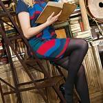 Карина много читает