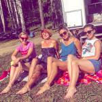 Отдых на природе с подругами