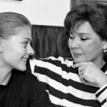 Лариса Голубкина с дочерью
