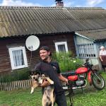Макс в деревне