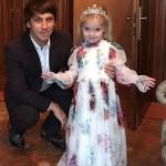 Максим Галкин с дочкой